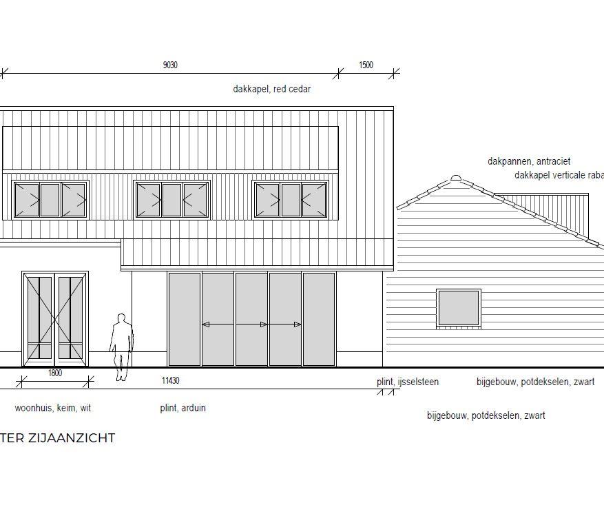 Verbouwing en uitbreiding woonhuis Prinsenbeek