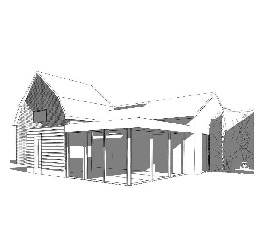 Verbouwing en uitbreiding woonhuis Rijsbergen